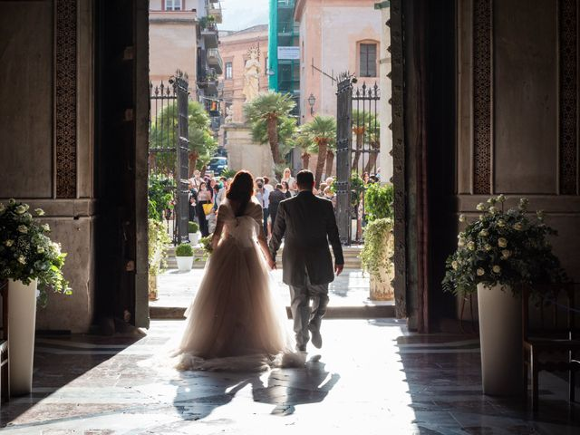 Il matrimonio di Marco e Melissa a Monreale, Palermo 78