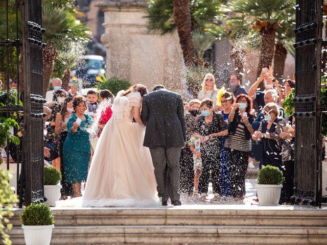 Il matrimonio di Marco e Melissa a Monreale, Palermo 80