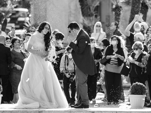 Il matrimonio di Marco e Melissa a Monreale, Palermo 81