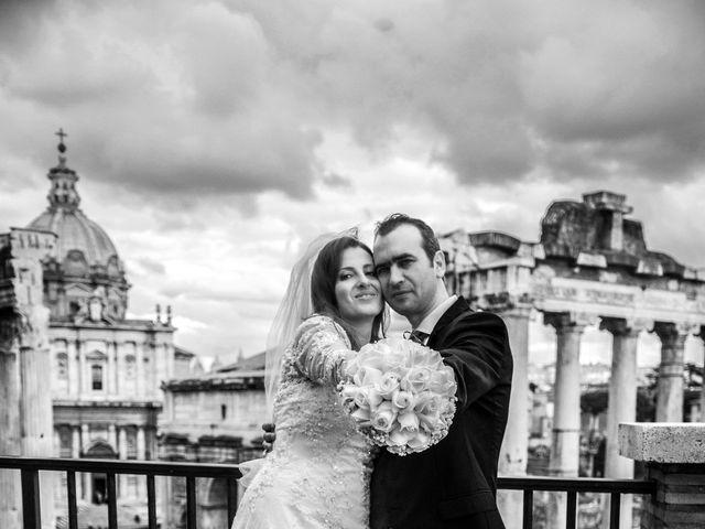Il matrimonio di Athanasios e Alexandra a Roma, Roma 7