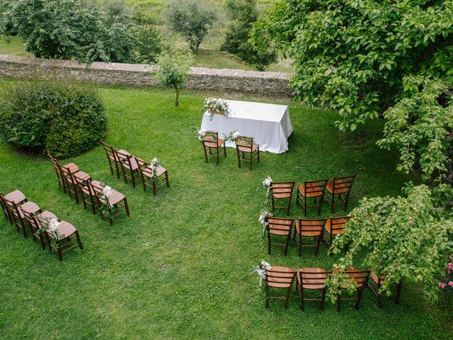 Il matrimonio di David e Natalie a Pergine Valdarno, Arezzo 11