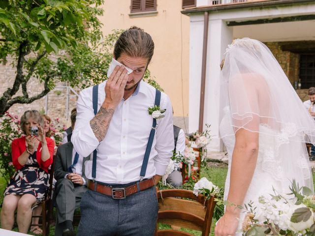 Il matrimonio di David e Natalie a Pergine Valdarno, Arezzo 20