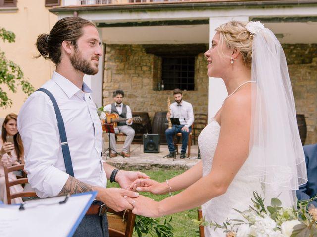 Il matrimonio di David e Natalie a Pergine Valdarno, Arezzo 22