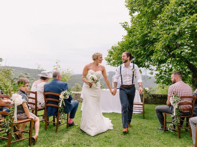 Il matrimonio di David e Natalie a Pergine Valdarno, Arezzo 23