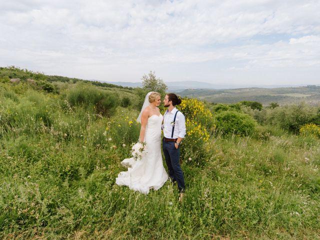 Il matrimonio di David e Natalie a Pergine Valdarno, Arezzo 31