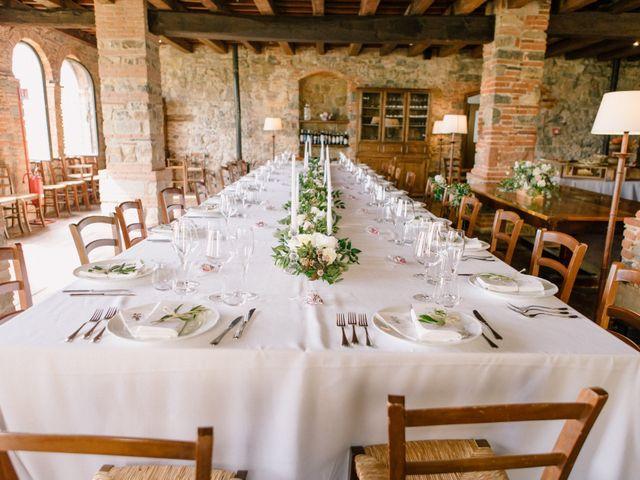 Il matrimonio di David e Natalie a Pergine Valdarno, Arezzo 33