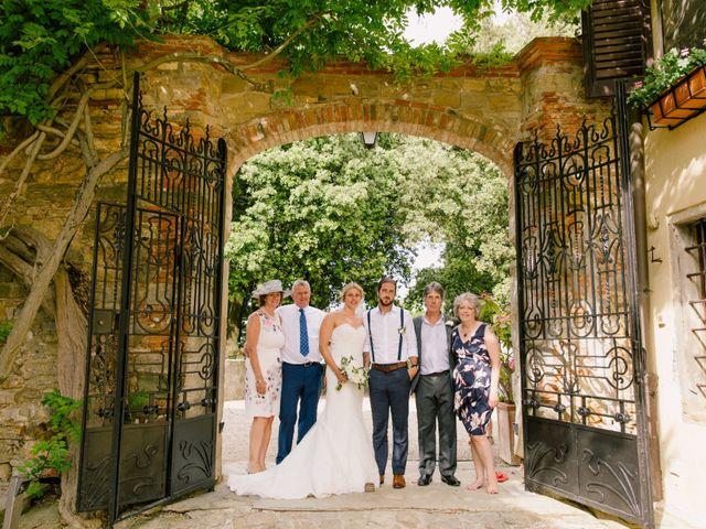 Il matrimonio di David e Natalie a Pergine Valdarno, Arezzo 36