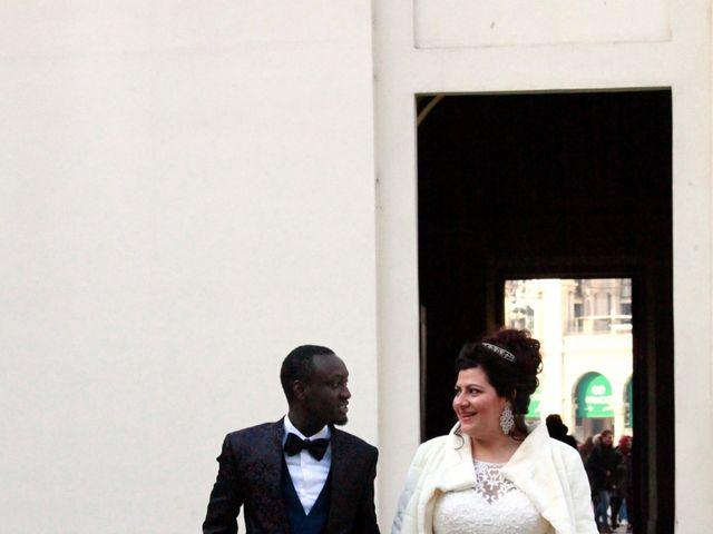 Il matrimonio di Khadim e Maria a Milano, Milano 17