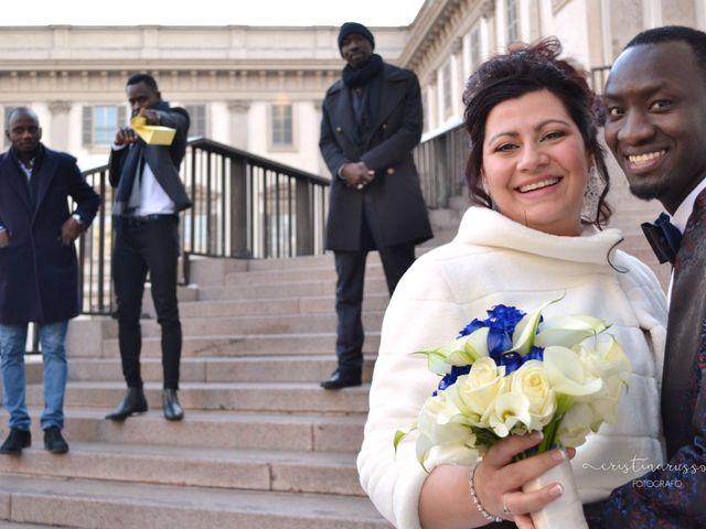 Il matrimonio di Khadim e Maria a Milano, Milano 22