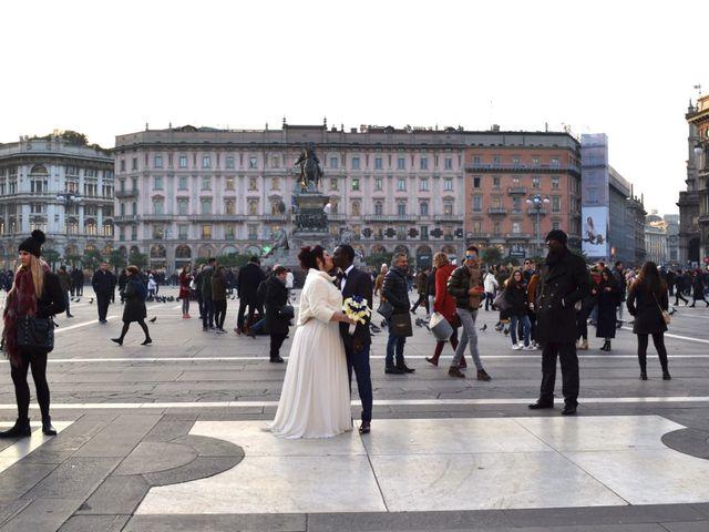 Il matrimonio di Khadim e Maria a Milano, Milano 25