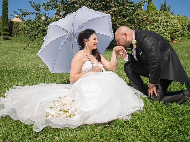 le nozze di Luana e Mirko