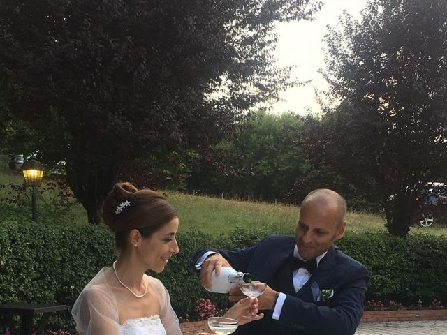 Il matrimonio di David e Francesca a Valmontone, Roma 2