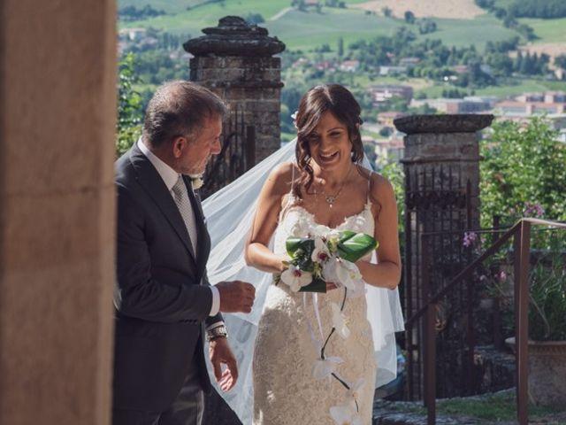 Il matrimonio di Leonardo e Eleonora a Lesignano de' Bagni, Parma 8