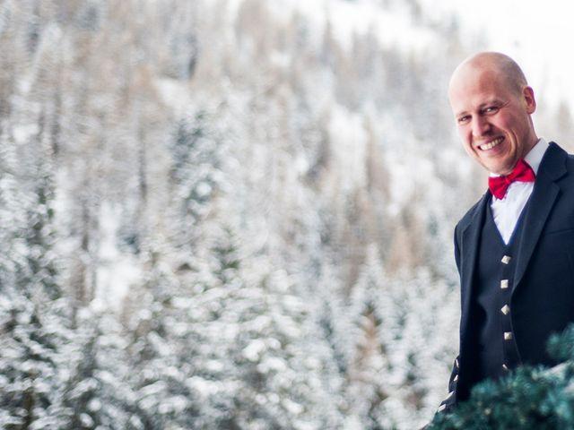 Il matrimonio di David e Sonia a La Salle, Aosta 3