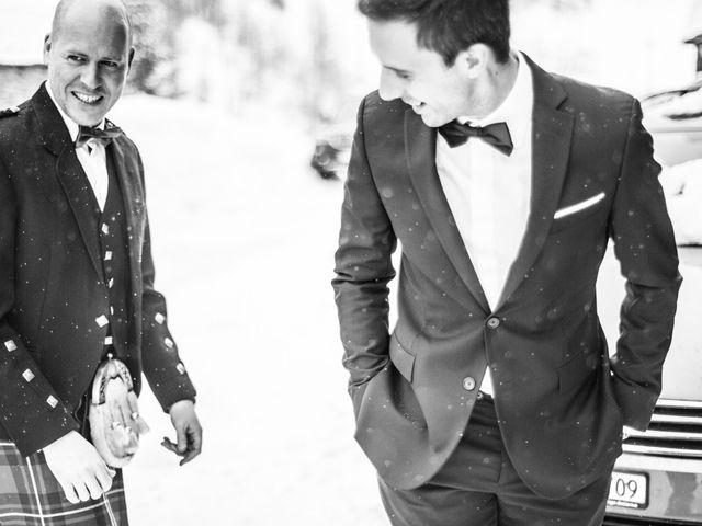 Il matrimonio di David e Sonia a La Salle, Aosta 12