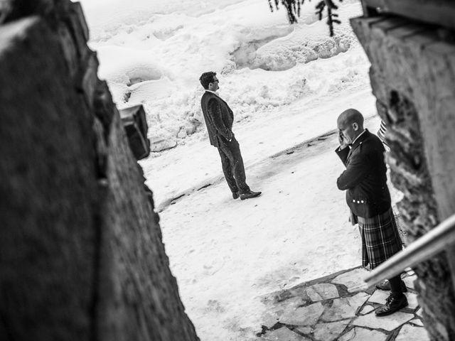 Il matrimonio di David e Sonia a La Salle, Aosta 15