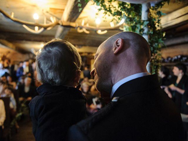 Il matrimonio di David e Sonia a La Salle, Aosta 17
