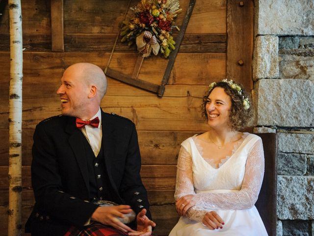 Il matrimonio di David e Sonia a La Salle, Aosta 25