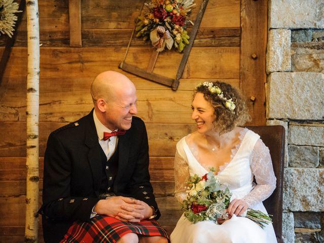 Il matrimonio di David e Sonia a La Salle, Aosta 28