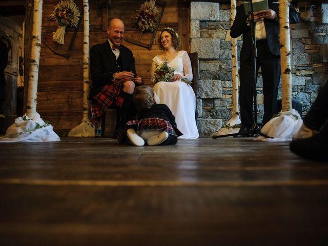 Il matrimonio di David e Sonia a La Salle, Aosta 30