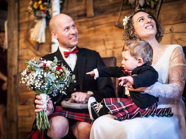 Il matrimonio di David e Sonia a La Salle, Aosta 31