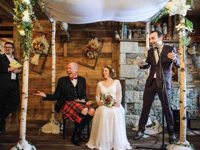 Il matrimonio di David e Sonia a La Salle, Aosta 32