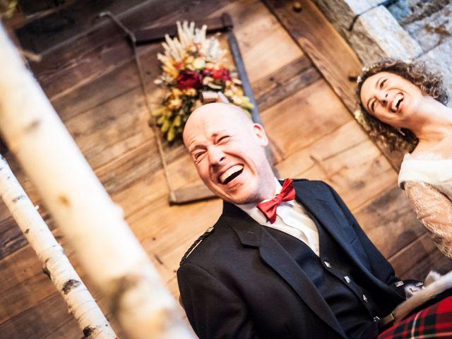 Il matrimonio di David e Sonia a La Salle, Aosta 33
