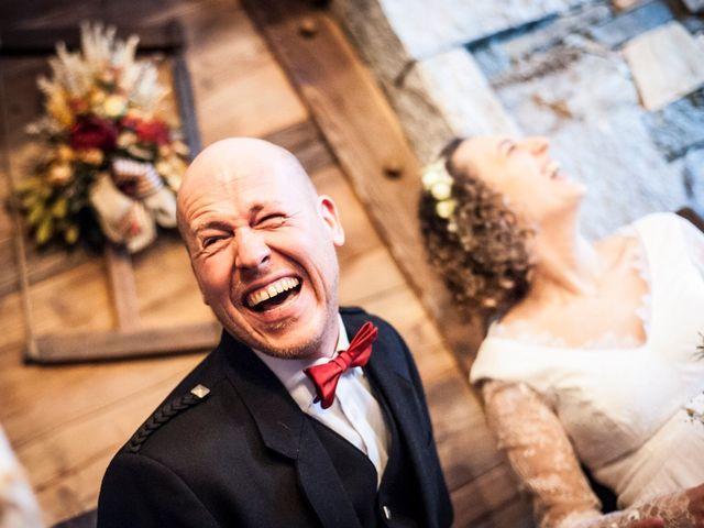 Il matrimonio di David e Sonia a La Salle, Aosta 34