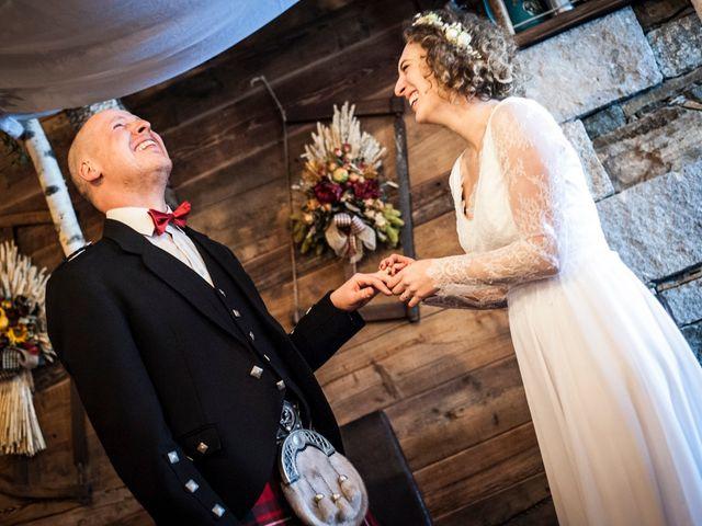 Il matrimonio di David e Sonia a La Salle, Aosta 41