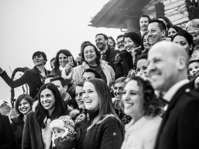 Il matrimonio di David e Sonia a La Salle, Aosta 49