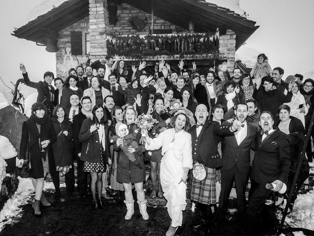 Il matrimonio di David e Sonia a La Salle, Aosta 50