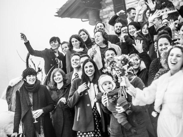 Il matrimonio di David e Sonia a La Salle, Aosta 51