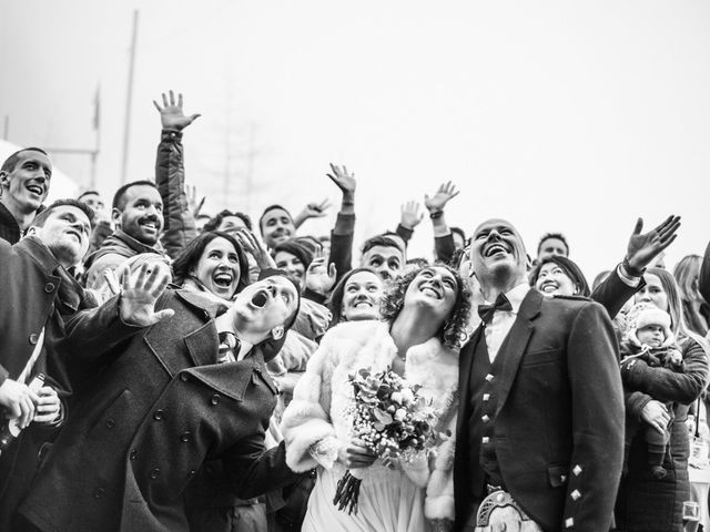Il matrimonio di David e Sonia a La Salle, Aosta 53