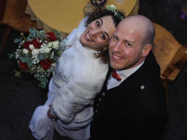 Il matrimonio di David e Sonia a La Salle, Aosta 54