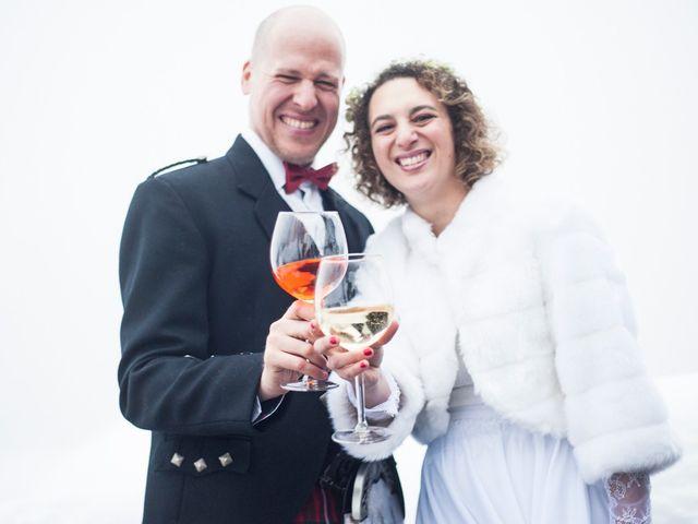 Il matrimonio di David e Sonia a La Salle, Aosta 58
