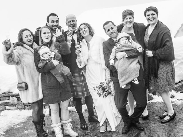 Il matrimonio di David e Sonia a La Salle, Aosta 60
