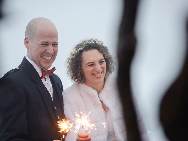 Il matrimonio di David e Sonia a La Salle, Aosta 63