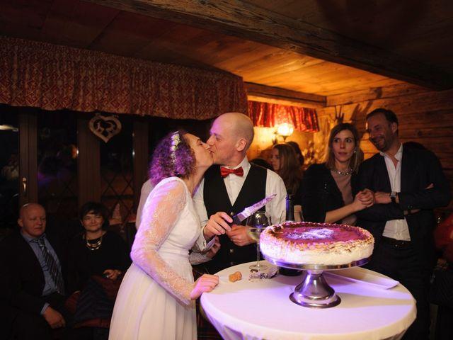 Il matrimonio di David e Sonia a La Salle, Aosta 92