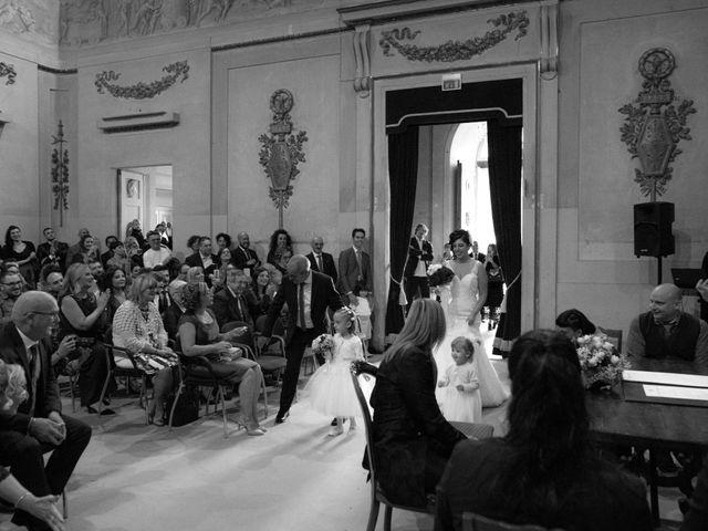 Il matrimonio di Emanuele e Cinzia a Pistoia, Pistoia 16
