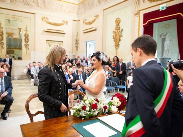 Il matrimonio di Emanuele e Cinzia a Pistoia, Pistoia 21