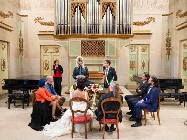 Il matrimonio di Emanuele e Cinzia a Pistoia, Pistoia 28