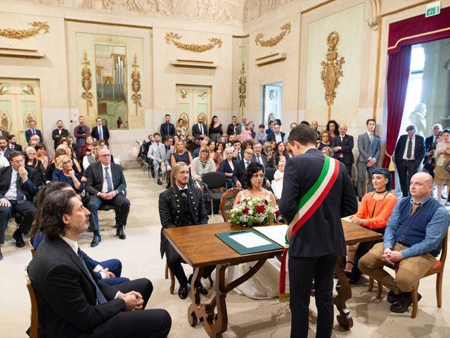Il matrimonio di Emanuele e Cinzia a Pistoia, Pistoia 31