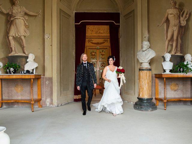 Il matrimonio di Emanuele e Cinzia a Pistoia, Pistoia 35