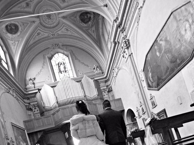 Il matrimonio di Mirco e Stefania a Castelmarte, Como 14