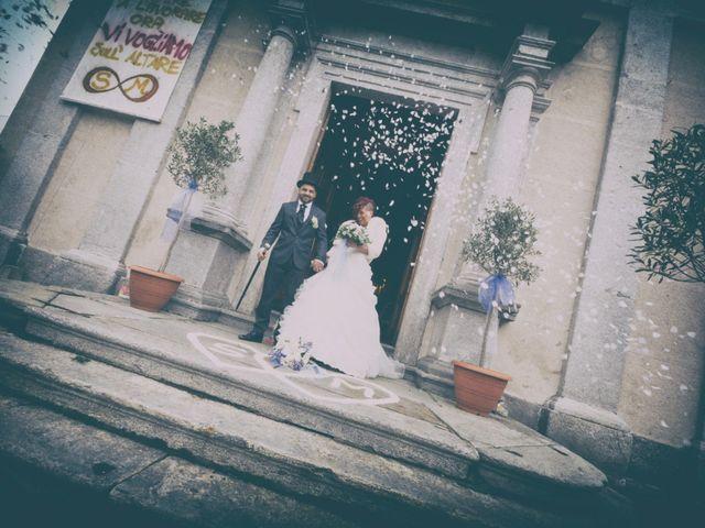Il matrimonio di Mirco e Stefania a Castelmarte, Como 15