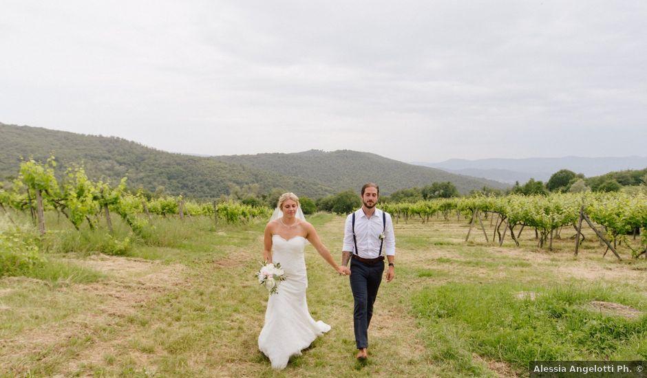 Il matrimonio di David e Natalie a Pergine Valdarno, Arezzo