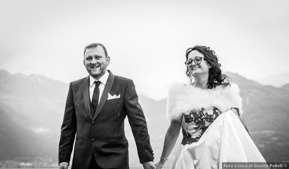 Il matrimonio di Massimo e Milena a Traona, Sondrio