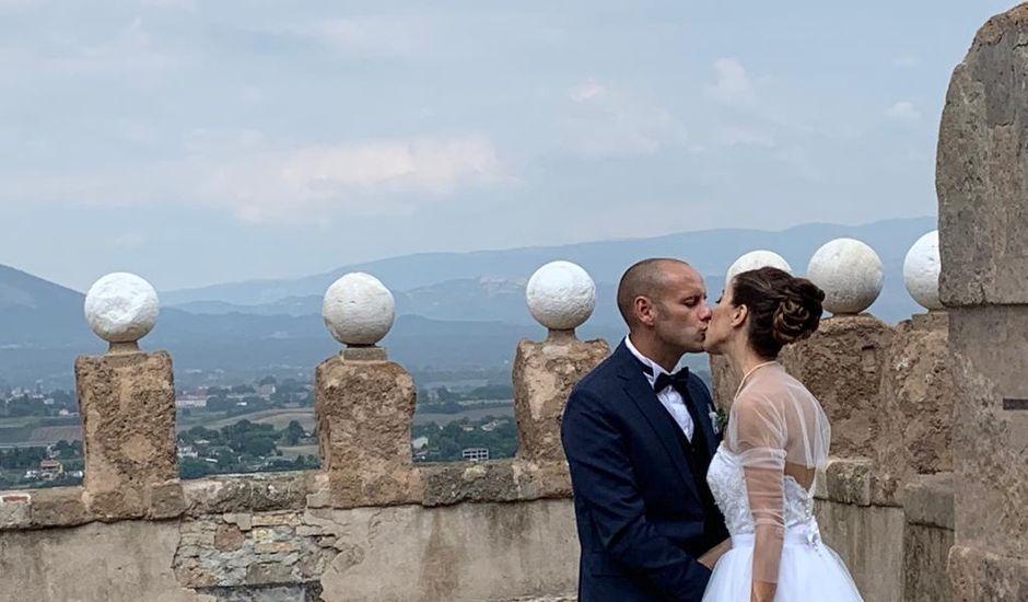 Il matrimonio di David e Francesca a Valmontone, Roma