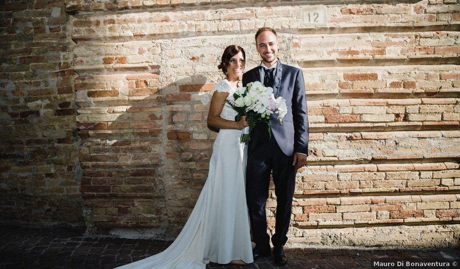 Il matrimonio di Fabrizio e Valeria a Tortoreto, Teramo
