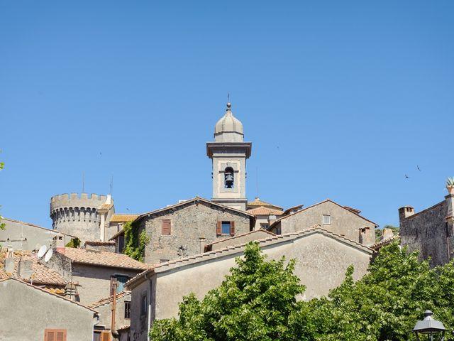 Il matrimonio di Antonio e Elizabete a Bracciano, Roma 2